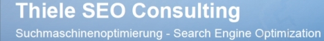 SEO Consulting Thiele - Suchmaschinenoptimierung